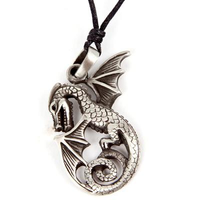 Pendentif Dragon Etain - L'envol
