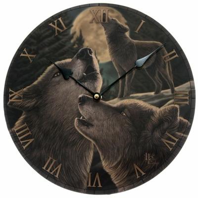 Horloge ronde - Chant de loups par Lisa Parker