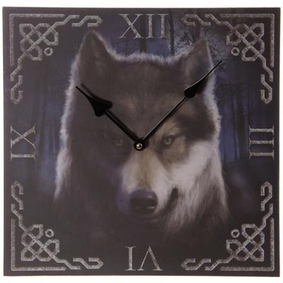 Horloge - Design loup envoûtant