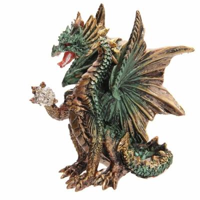 Dragon 'Dark Legends' Avec Boule De Cristal (B)