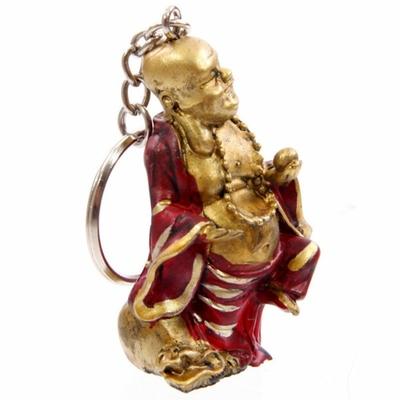 Porte-clefs Bouddha souriant (F)