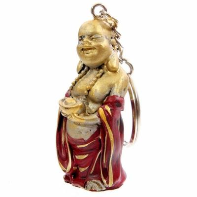 Porte-clefs Bouddha souriant (B)