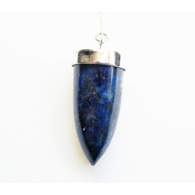 Pendule Lapis Lazuli, pointe