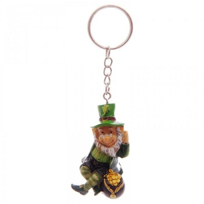 Porte-clés Léprechaun Lutin Irlandais ( B )