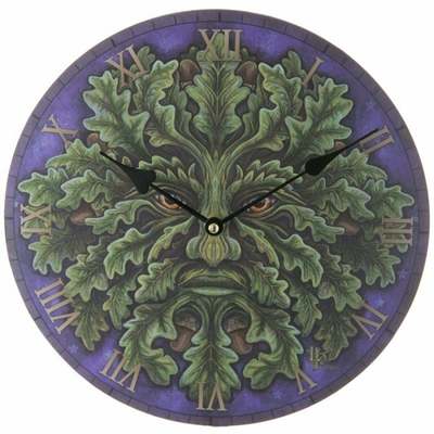 Horloge Ronde - L'Esprit de la Forêt ( Lisa Parker )