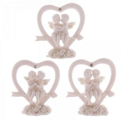 Anges Amoureux sur Flèche de Cupidon ( Lot de 3 )