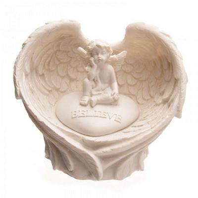 Ailes d'Anges à LED Avec Chérubin ( C )