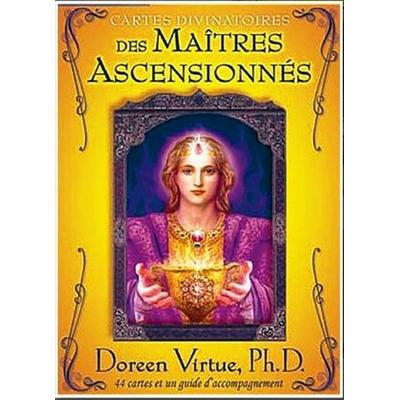 Cartes Divinatoires des Maîtres Ascensionnés ( Coffret avec 44 cartes + Livret )