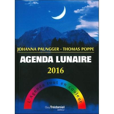 Agenda lunaire 2016 - L'Agenda tout en couleur