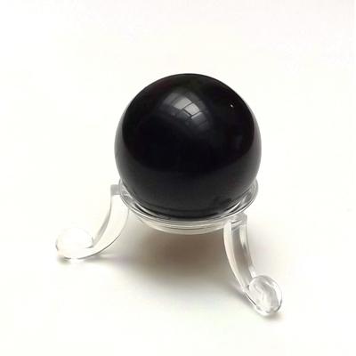 Sphère obsidienne noire 30mm - La pièce