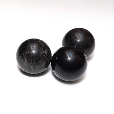 Sphère obsidienne noire 25mm - La Pièce