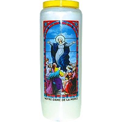 Bougie de Neuvaine ( Notre Dame de la Merci )