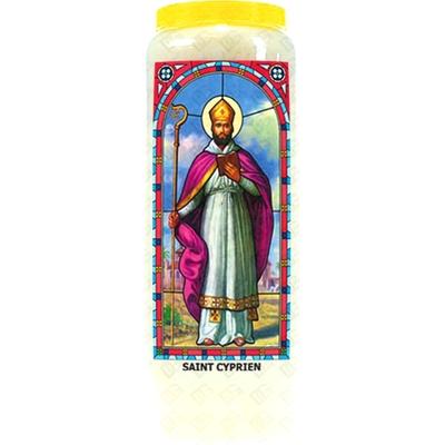 Bougie de Neuvaine ( Saint Cyprien )