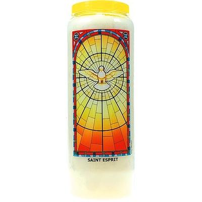 Bougie de Neuvaine ( Saint Esprit )