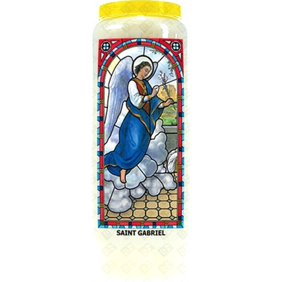 Bougie de Neuvaine ( Saint Gabriel )