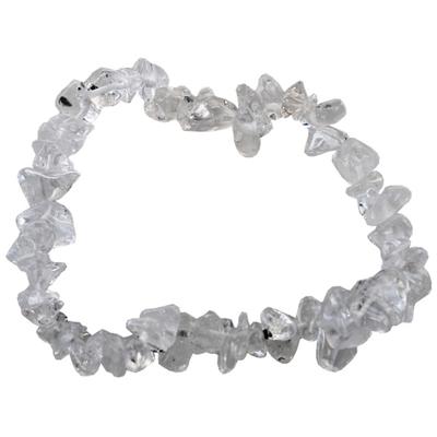 Bracelet cristal de roche ( Baroque )