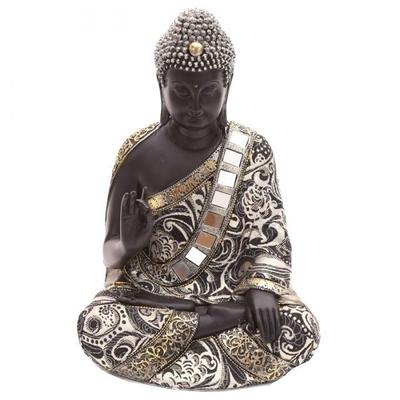 Grand Bouddha Thaï Assis Statue 30 cm