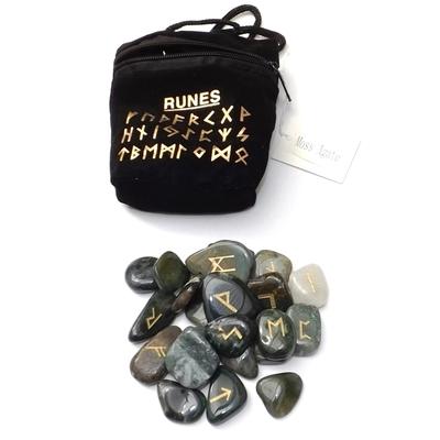 Runes en Pierres - Agate mousse