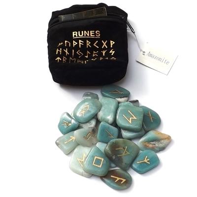 Runes en Pierres - Amazonite