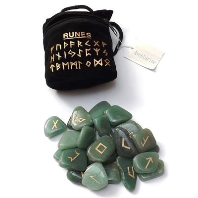Runes en Pierres - Aventurine