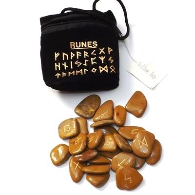 Runes en Pierres - Jaspe brun