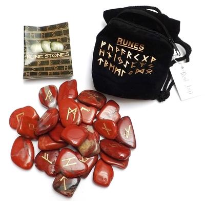 Runes en Pierres - Jaspe rouge