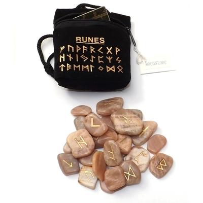 Runes en Pierres - Pierre de lune