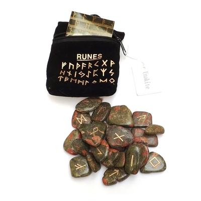 Runes en Pierres - Unakite