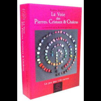La Voie des Pierres, Cristaux & Chakras ( 110 cartes )