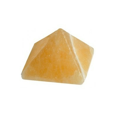 Pyramide Calcite orange 30 mm - La pièce