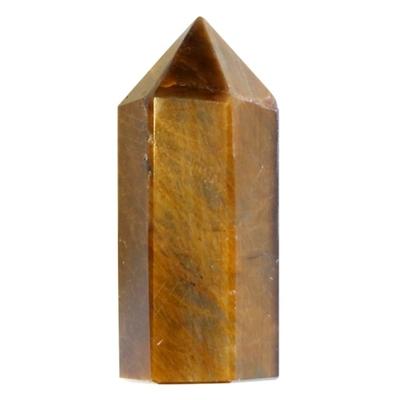 Pointe Oeil de Tigre à 6 faces- 3,5 cm