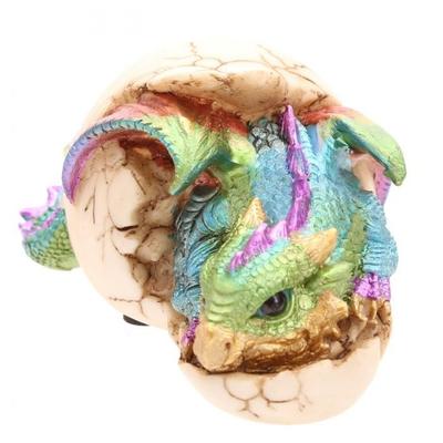 Bébé Dragon Oeuf Couché (6,5 cm)