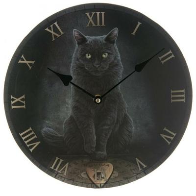 Horloge Chat - La Voix du Maître (Par Lisa Parker)