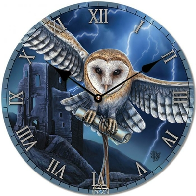 Horloge Chouette au Centre de l'Orage