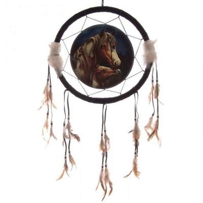Attrape Rêves Le Cheval Apache (33 cm)