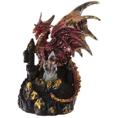 Figurine Dragon Rouge Tour de Cristal (19 cm)