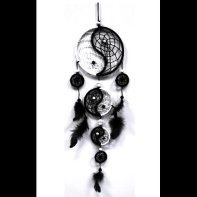 Attrape Rêves Yin Yang (12 cm)