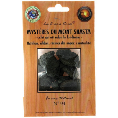 Encens Mystère du Mont Shasta - Spiritualité - (Encens rares 25gr)