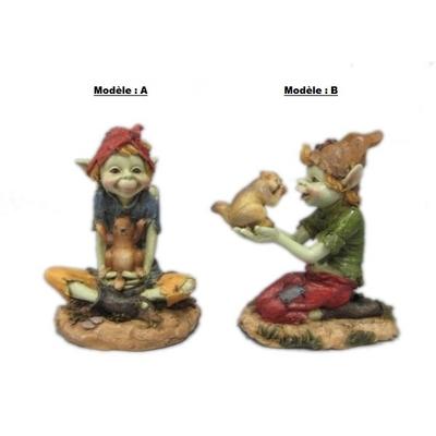 Pixie avec Marmotte 2 assortiments