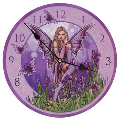 Horloge Imprimée - Fée Iris par Lisa Parker