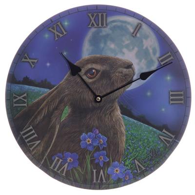 Horloge Imprimée - Lapin par Lisa Parker