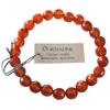 Bracelet Cornaline Perles facettées (8 mm)  41240