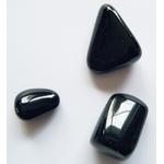 Obsidienne noir, pirre roulée