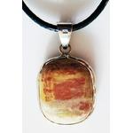 pendentif jaspe arc en ciel 925-2