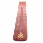 Attrape-cendres-bouddha-étoiles-bois-de-sheesham 2