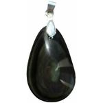 Pendentif Obsidienne Oeil Céleste double face-02 40110