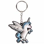 Porte-clefs Licorne Bleu KEY35-01