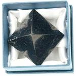 Pyramide en Tourmaline noire ( 3 cm ) 40513