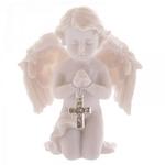 Ange Priant avec une Croix ( Lot de 2 )  CHE72-Lot (6)
