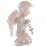 Ange Priant avec une Croix ( Lot de 2 )  CHE72-Lot (7)